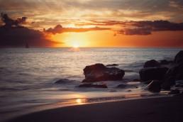 Coucher de soleil bateau Martinique Dan Beal