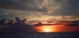 Coucher de soleil Martinique Dan Beal